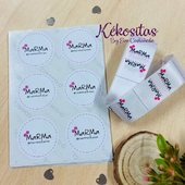 Etiquetas textiles para coser Pegatinas Y mucho más  www.kekositas.com