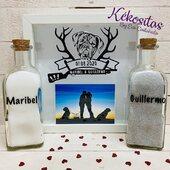 Ritual de arena con foto! En 📣www.kekositas.com♥️ #ritual #ritualdearena #boda #bodas2020 #personalizado #marco #kekositas