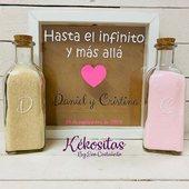 Ritual de arena personalizado... Si te casas en breve, no olvides hacer tu pedido! Desde 32€ ❣️www.kekositas.com❣️