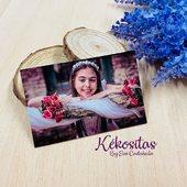 NOVEDADES!🥳 Imanes personalizados con foto y texto, listos para entregar cómo detalle en Bautizos, Comuniones, Bodas... incluyen bolsita de organza y tarjeta.  www.kekositas.com